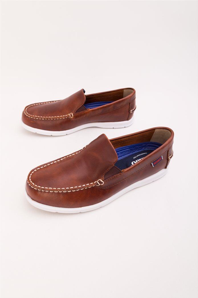 3dd171ed364 SEBAGO   Ανδρικά παπούτσια boats χωρίς κορδόνια. Ταμπά   notos