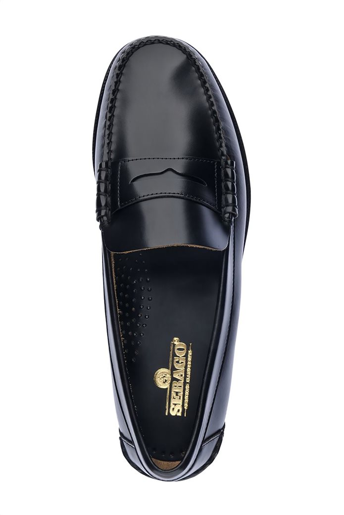 Sebago ανδρικά loafers δερμάτινα Classic Black Dan 2