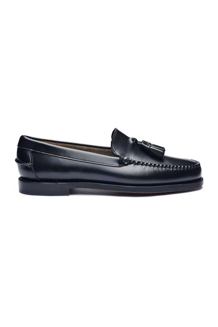 99835c6101f SEBAGO | Sebago γυναικεία loafers δερμάτινα Classic Will Μαύρο | notos