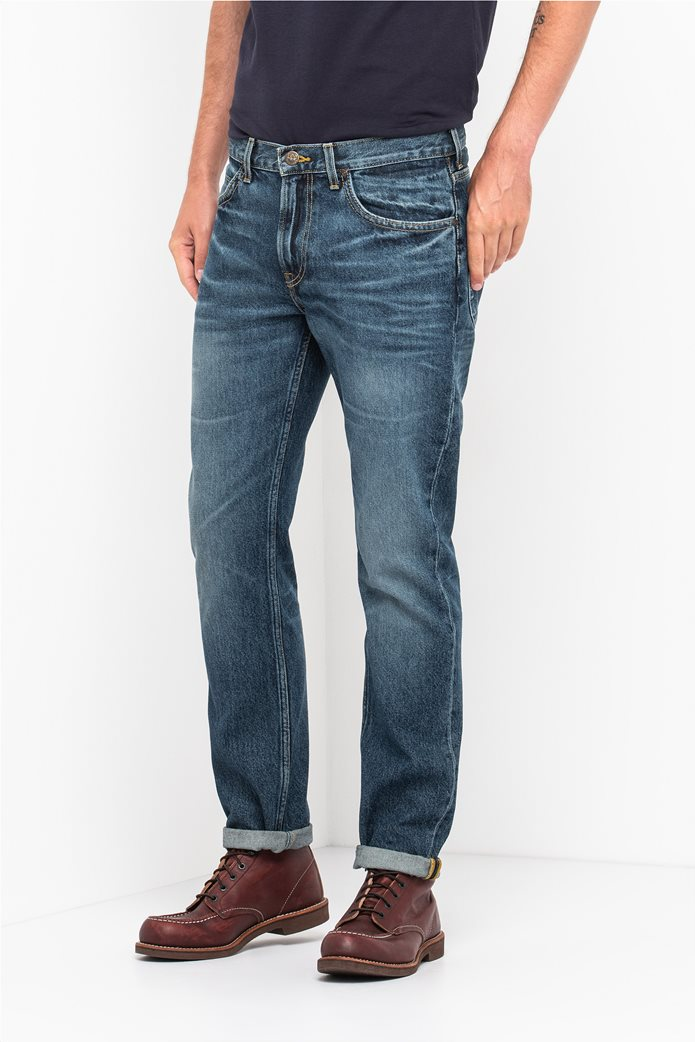 Lee Rider slim ανδρικό τζην παντελόνι Vintage Worn 0