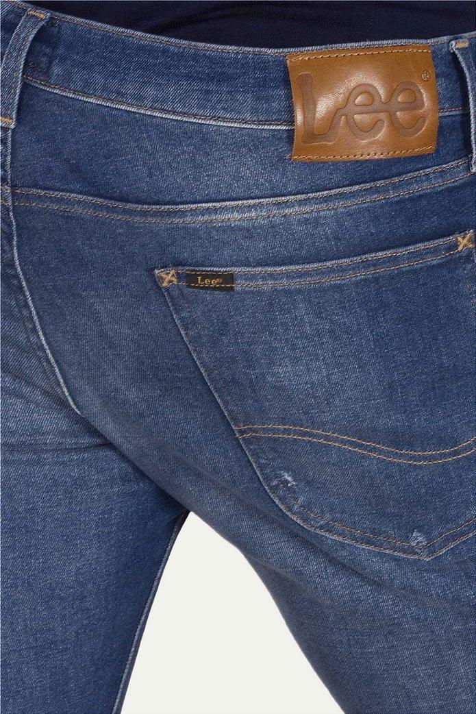 Lee Luke slim tapered ανδρικό τζην παντελόνι Broken Blue 3
