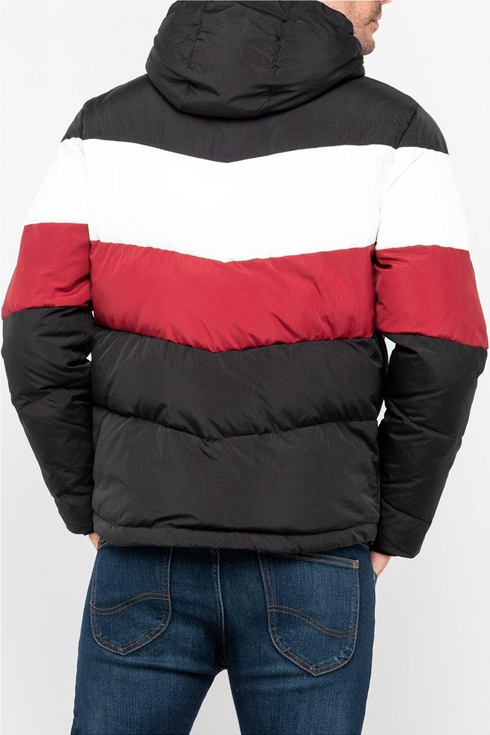 Lee ανδρικό μπουφάν καπιτονέ Puffer Jacket Pitch Black 1