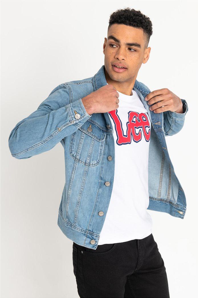Lee ανδρικό τζην jacket Slim Rider 0