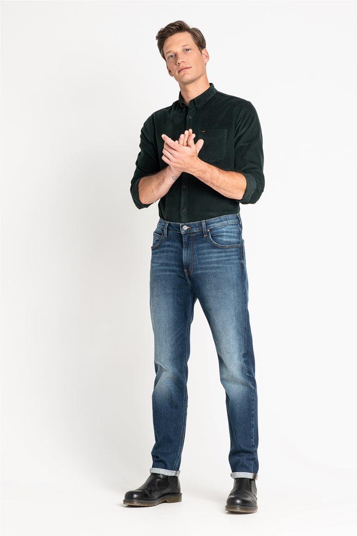 "Lee ανδρικό τζην παντελόνι ""Austin"" Regular tapered Dark Diamond 1"