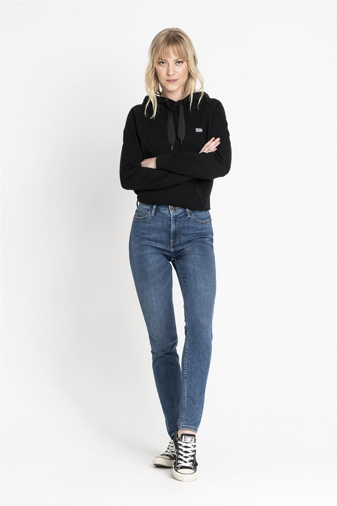 "Lee γυναικείο τζην ψηλόμεσο παντελόνι Skinny ""Scarlette High"" 1"