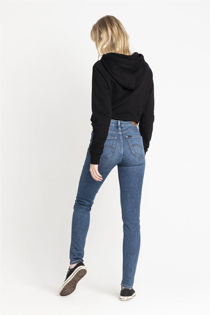"Lee γυναικείο τζην ψηλόμεσο παντελόνι Skinny ""Scarlette High"" 2"
