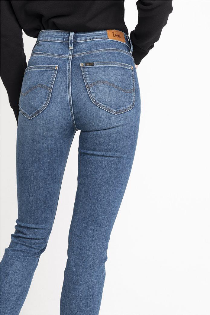 "Lee γυναικείο τζην ψηλόμεσο παντελόνι Skinny ""Scarlette High"" 3"
