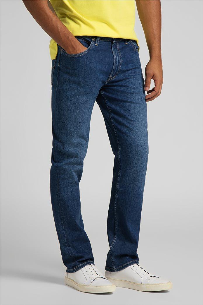 Lee ανδρικό τζην παντελόνι πεντάτσεπο Regular Fit ''Brooklyn'' 2