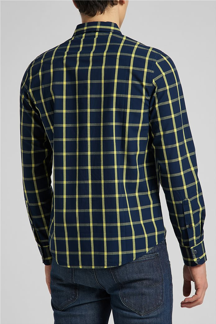 Lee ανδρικό πουκάμισο με καρό σχέδιο ''Rider'' 1