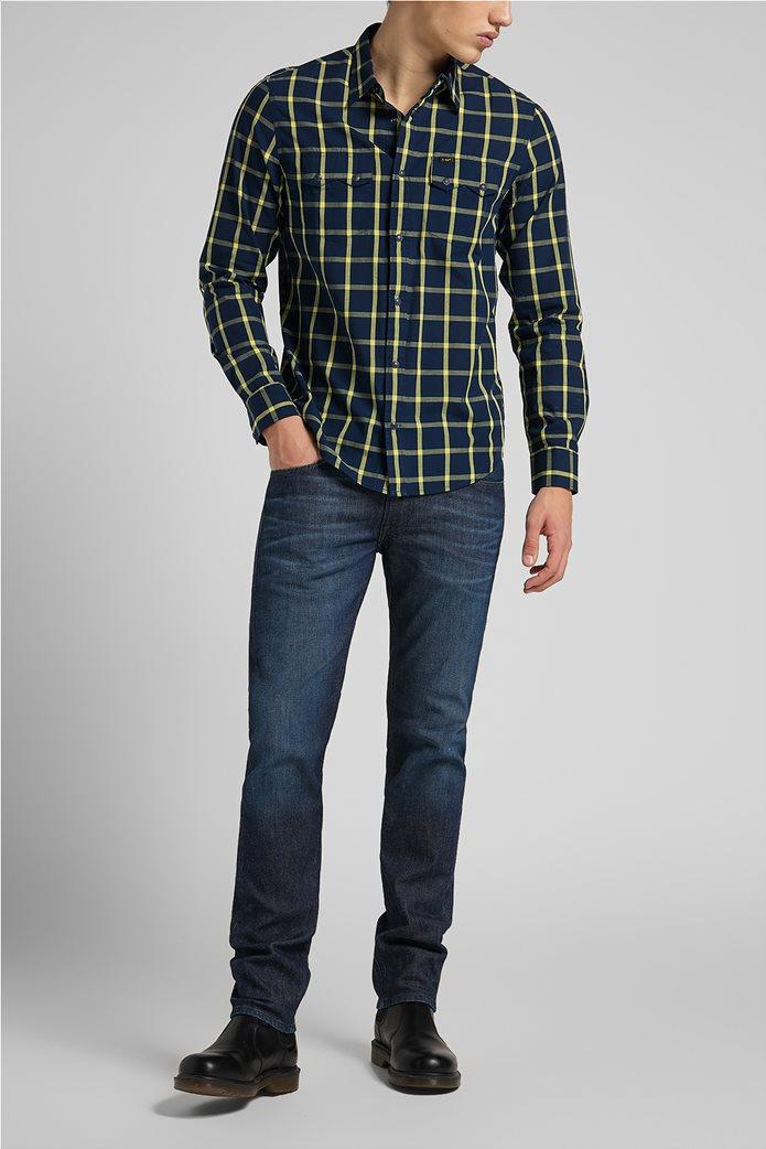 Lee ανδρικό πουκάμισο με καρό σχέδιο ''Rider'' 2