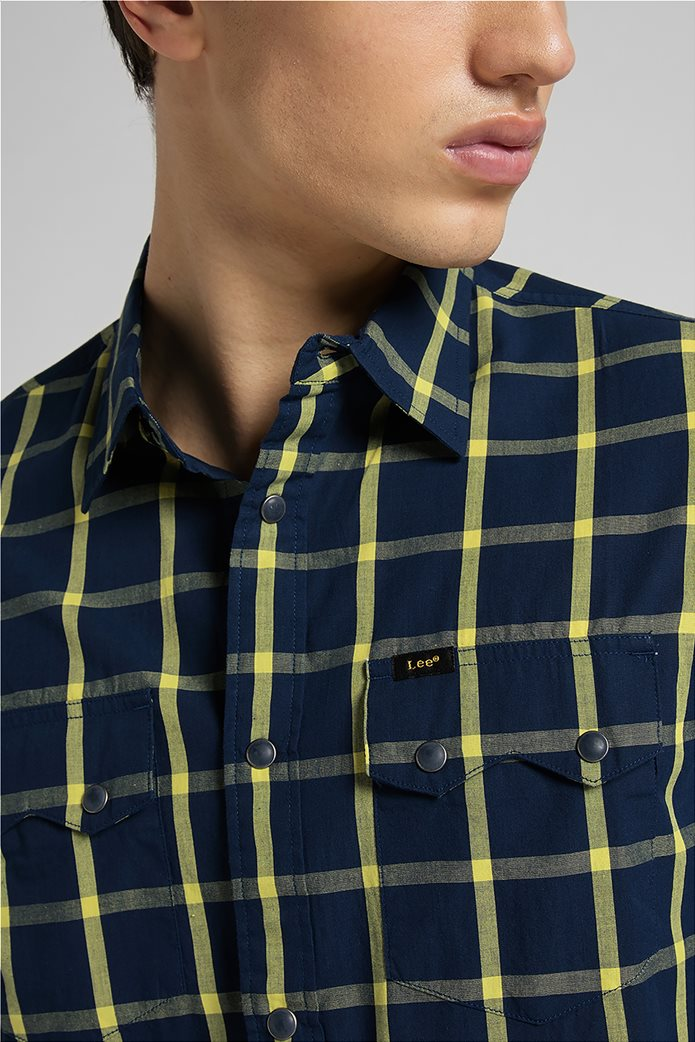Lee ανδρικό πουκάμισο με καρό σχέδιο ''Rider'' 4