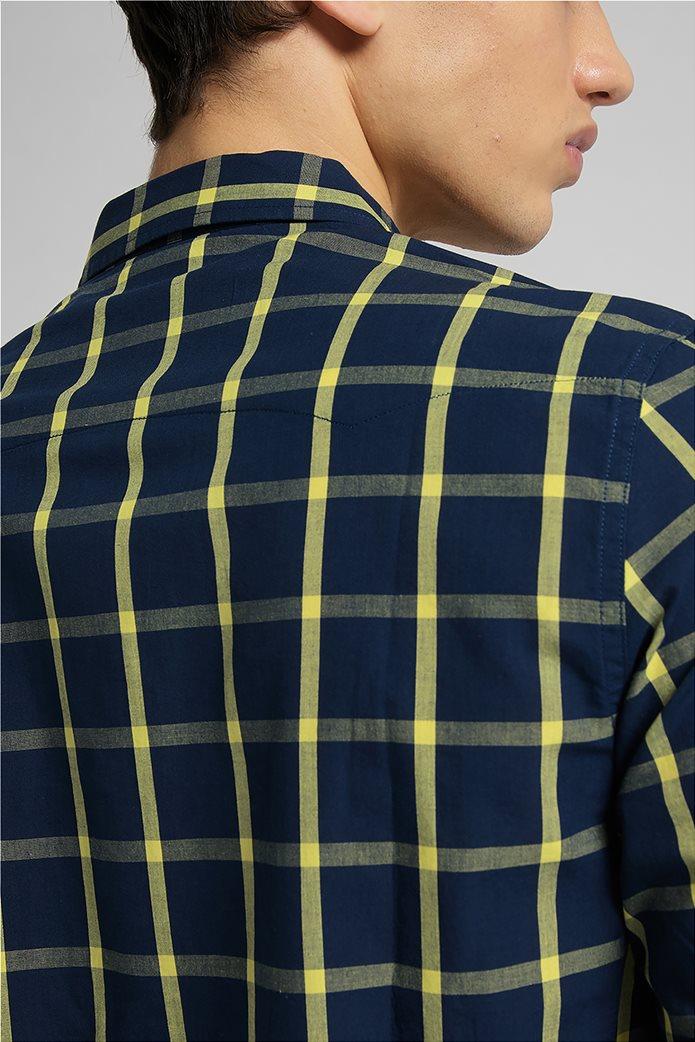 Lee ανδρικό πουκάμισο με καρό σχέδιο ''Rider'' 5