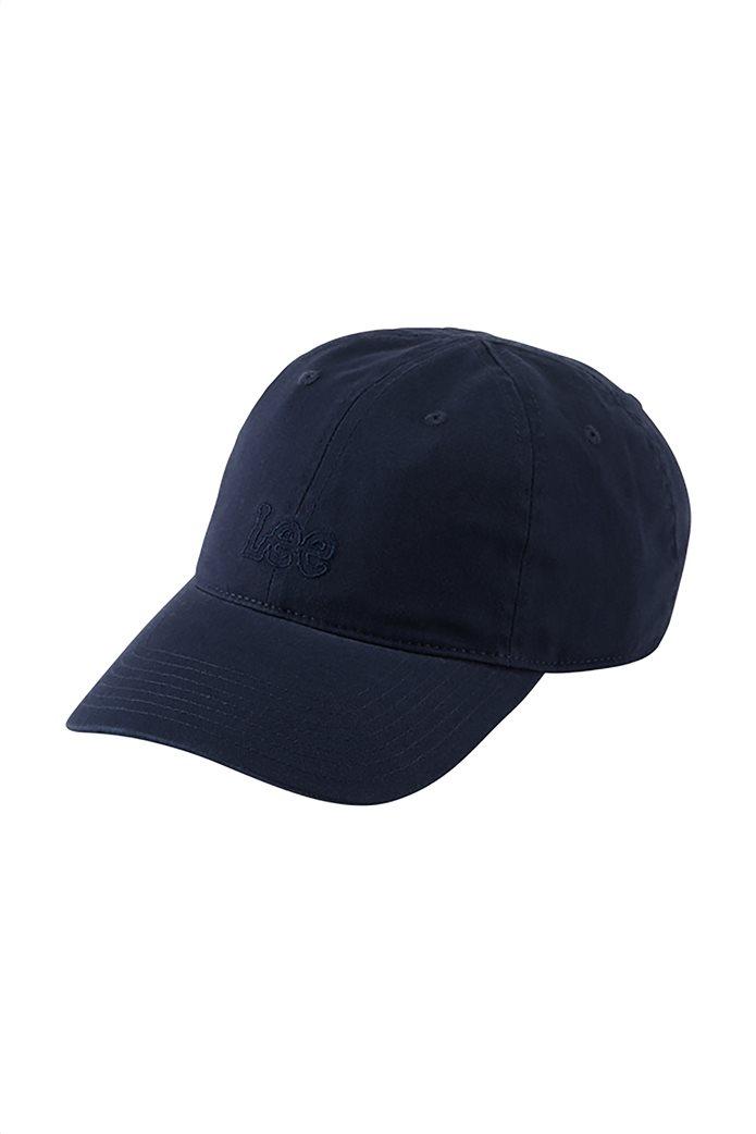 Lee ανδρικό καπέλο jockey με κεντημένο logo 4