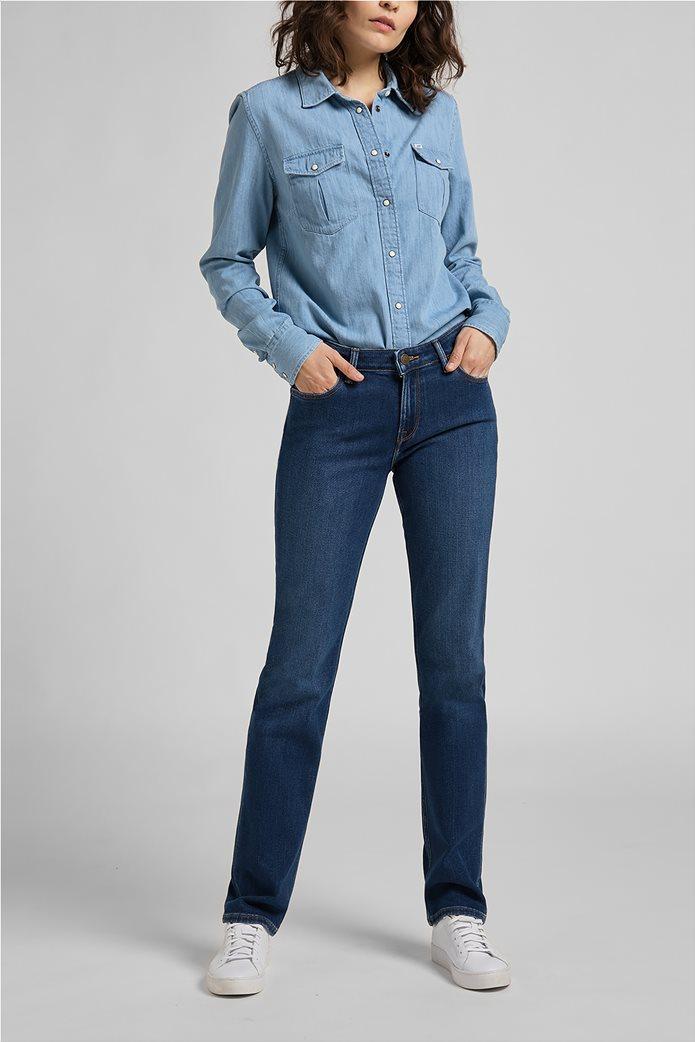 Lee γυναικείο τζην παντελόνι πεντάτσεπο Straight Fit ''Marion'' 0