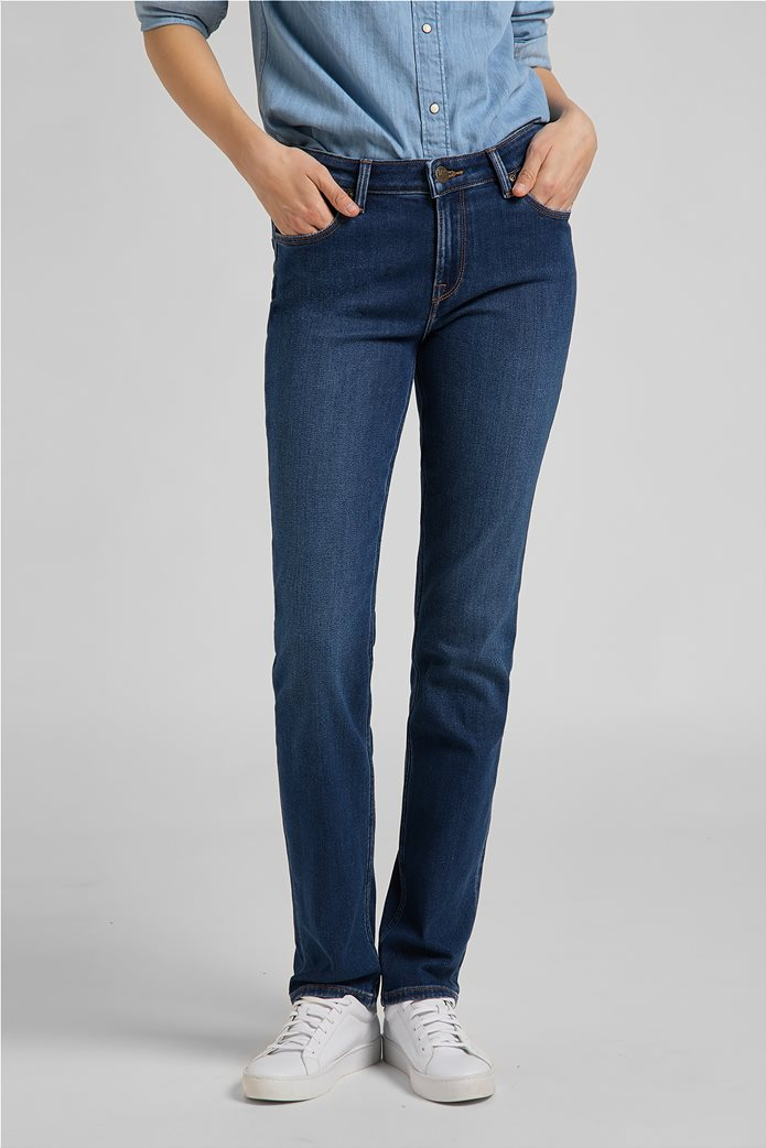 Lee γυναικείο τζην παντελόνι πεντάτσεπο Straight Fit ''Marion'' 2