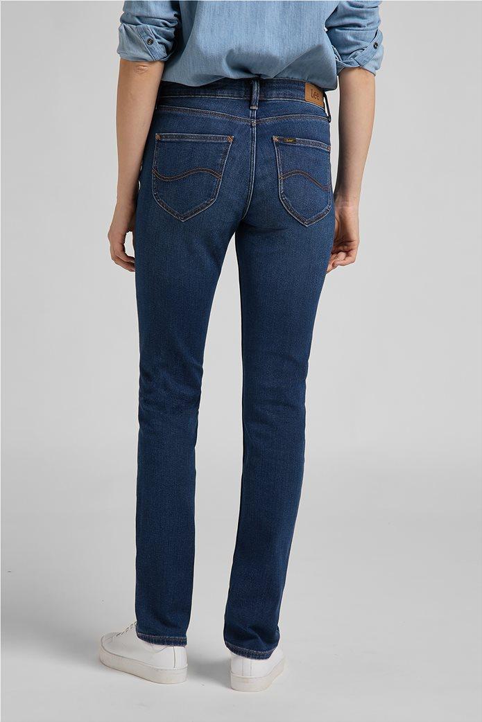 Lee γυναικείο τζην παντελόνι πεντάτσεπο Straight Fit ''Marion'' 3