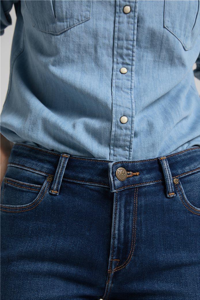 Lee γυναικείο τζην παντελόνι πεντάτσεπο Straight Fit ''Marion'' 4