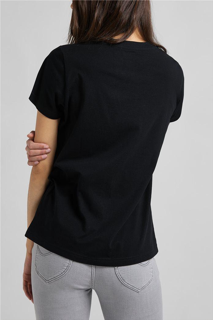 Lee γυναικεία μπλούζα με logo print 1