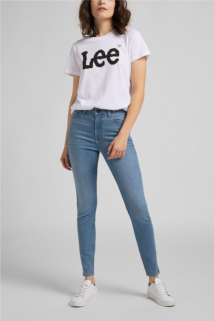 Lee γυναικεία μπλούζα με logo print 2
