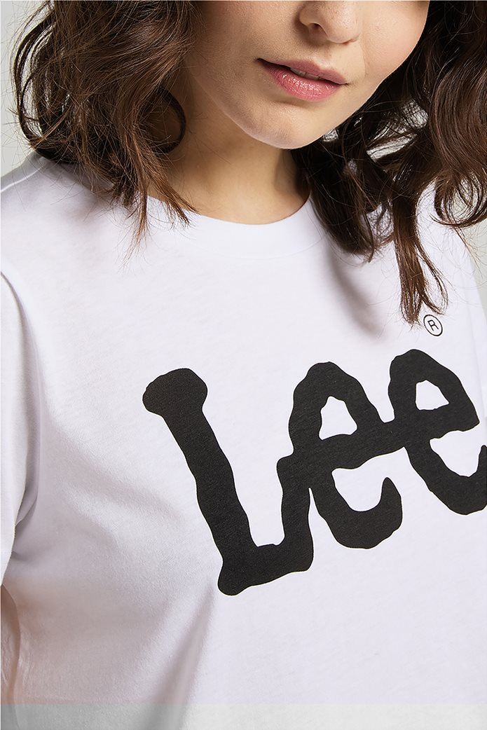 Lee γυναικεία μπλούζα με logo print 4