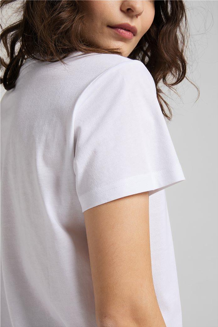 Lee γυναικεία μπλούζα με logo print 5