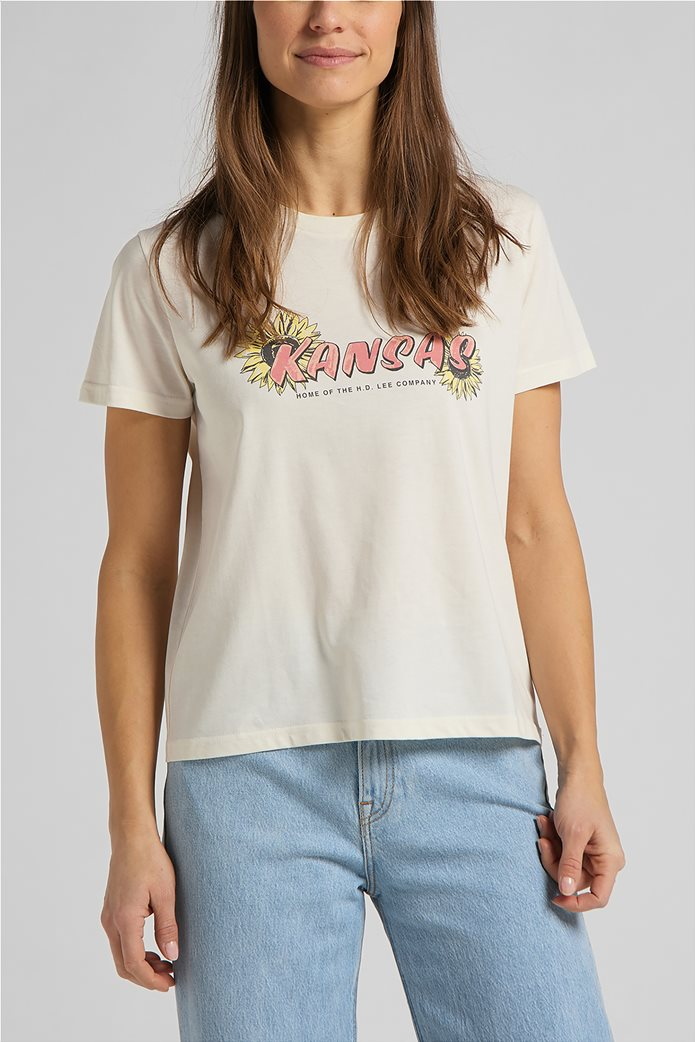 Lee γυναικείο T-Shirt με graphic print ''Kansas'' 0