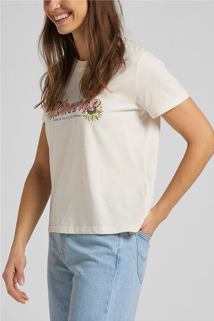 Lee γυναικείο T-Shirt με graphic print ''Kansas'' 3