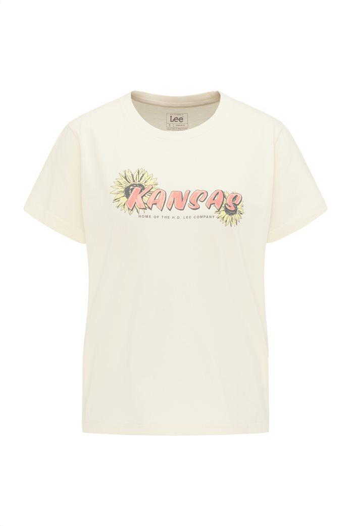 Lee γυναικείο T-Shirt με graphic print ''Kansas'' 6