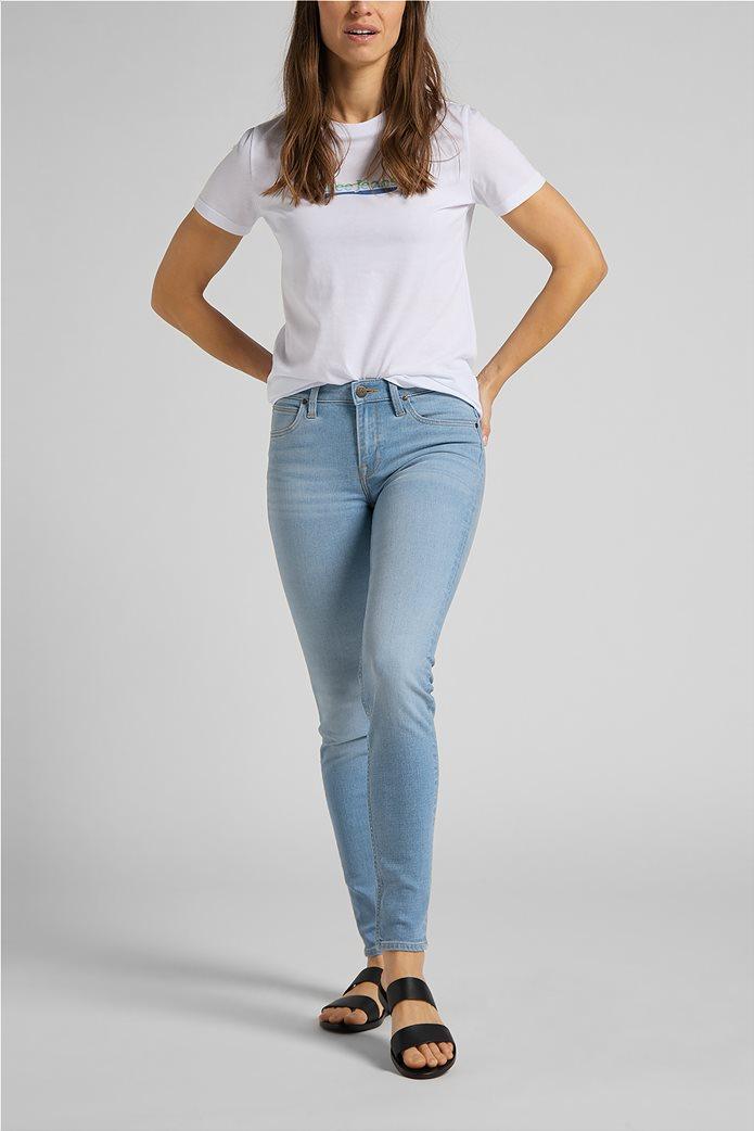 Lee γυναικείο T-Shirt με logo print Slim Fit 2