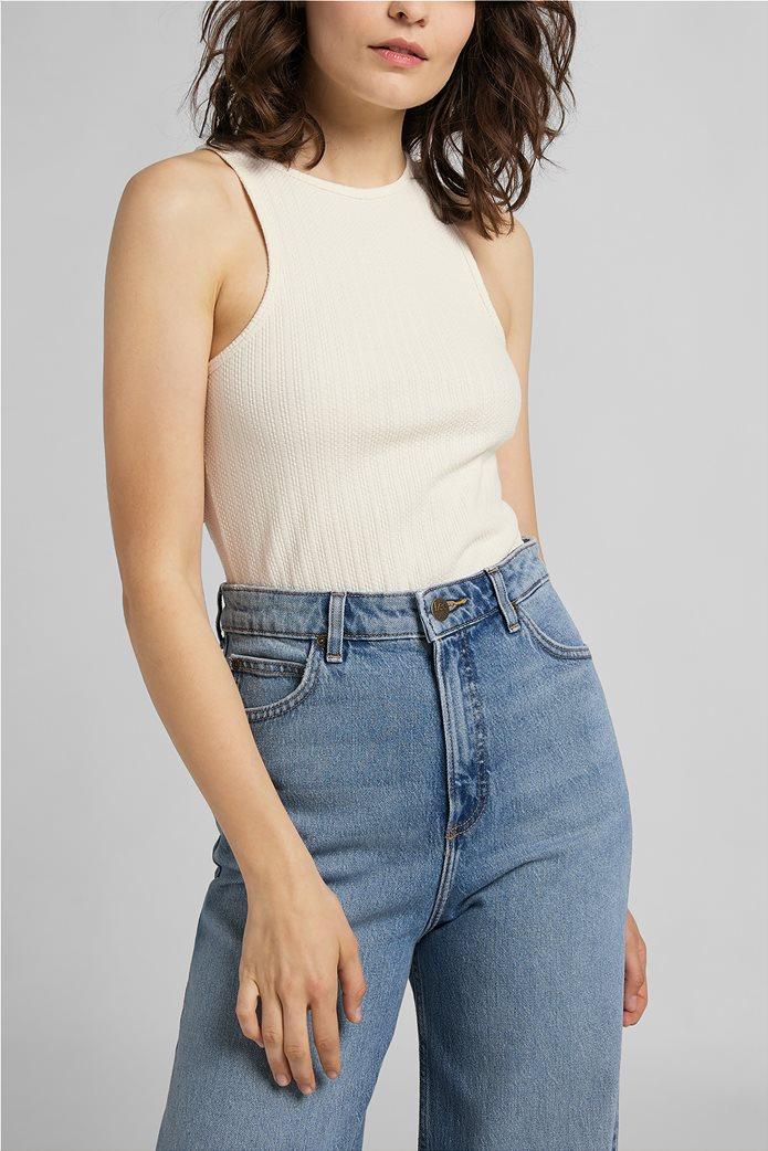 Lee γυναικεία μπλούζα αμάνικη ribbed 0