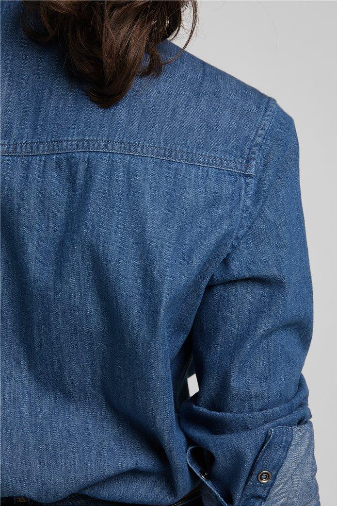 Lee γυναικείο πουκάμισο denim με flap τσέπες 5
