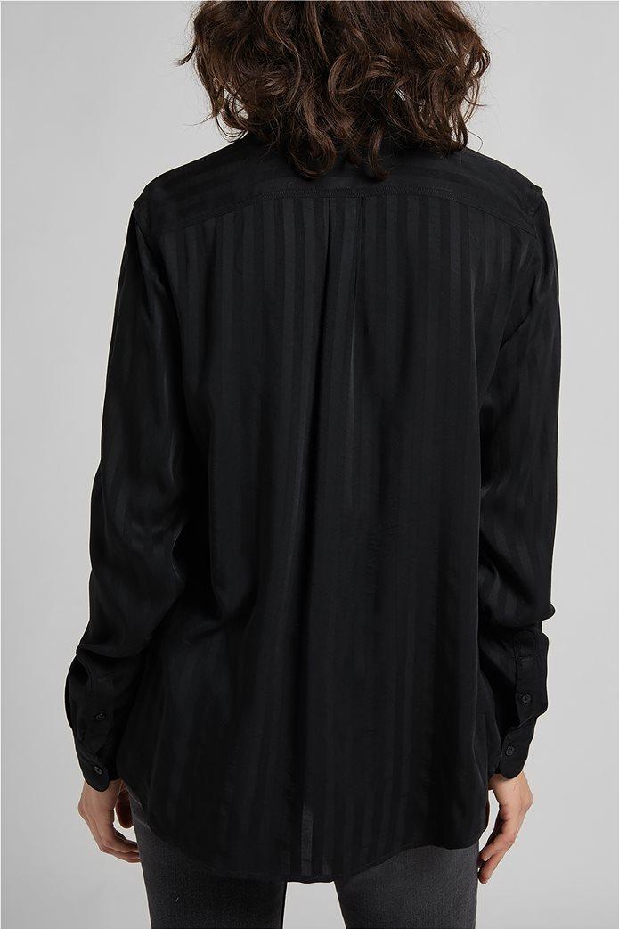 Lee γυναικείο πουκάμισο με ριγέ σχέδιο και απλικέ τσέπη 1
