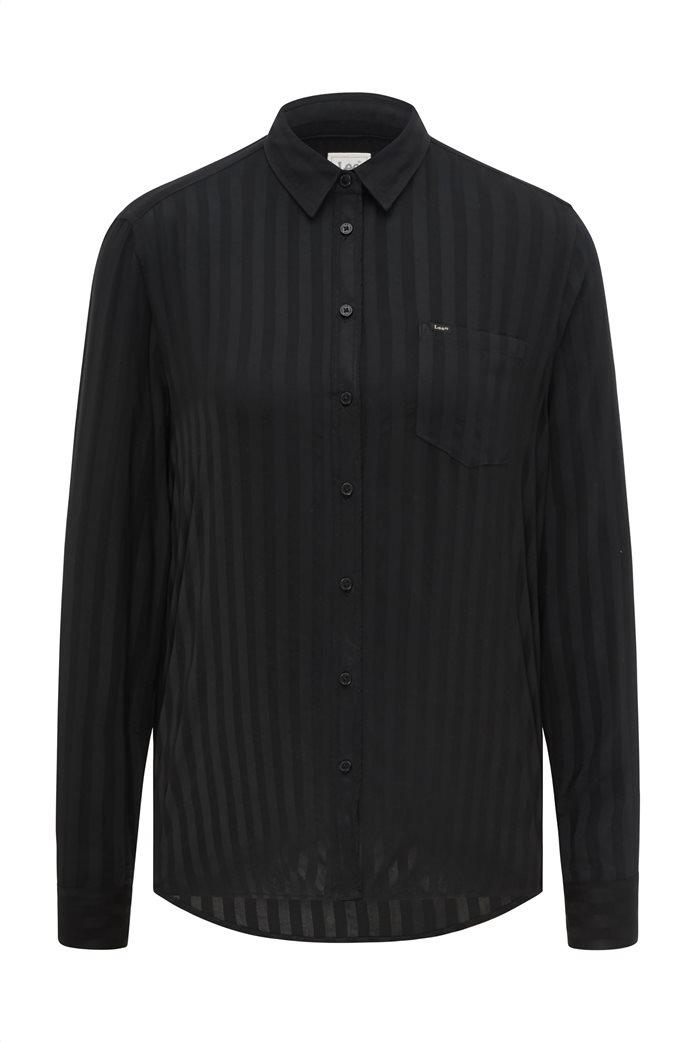 Lee γυναικείο πουκάμισο με ριγέ σχέδιο και απλικέ τσέπη 6
