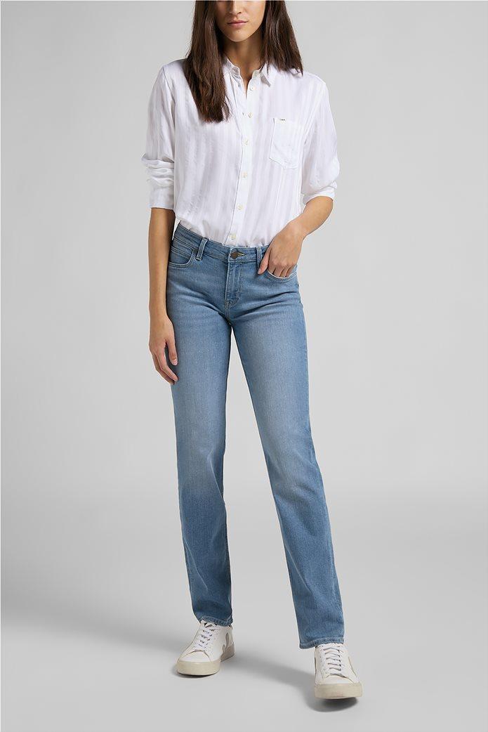 Lee γυναικείο πουκάμισο με ριγέ σχέδιο και απλικέ τσέπη 2