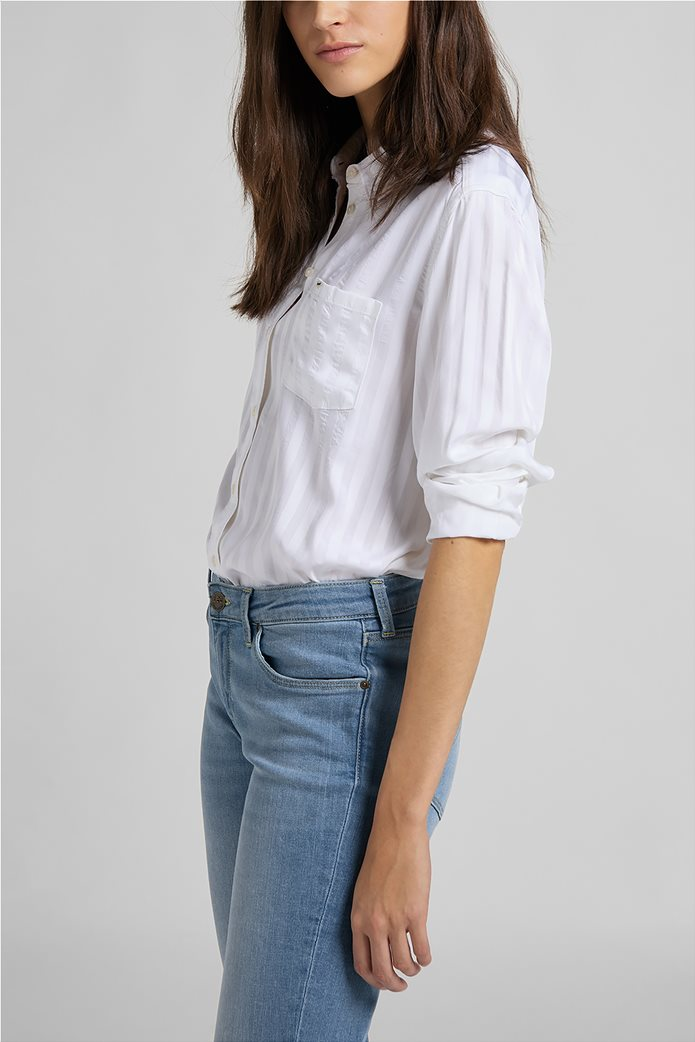 Lee γυναικείο πουκάμισο με ριγέ σχέδιο και απλικέ τσέπη 3