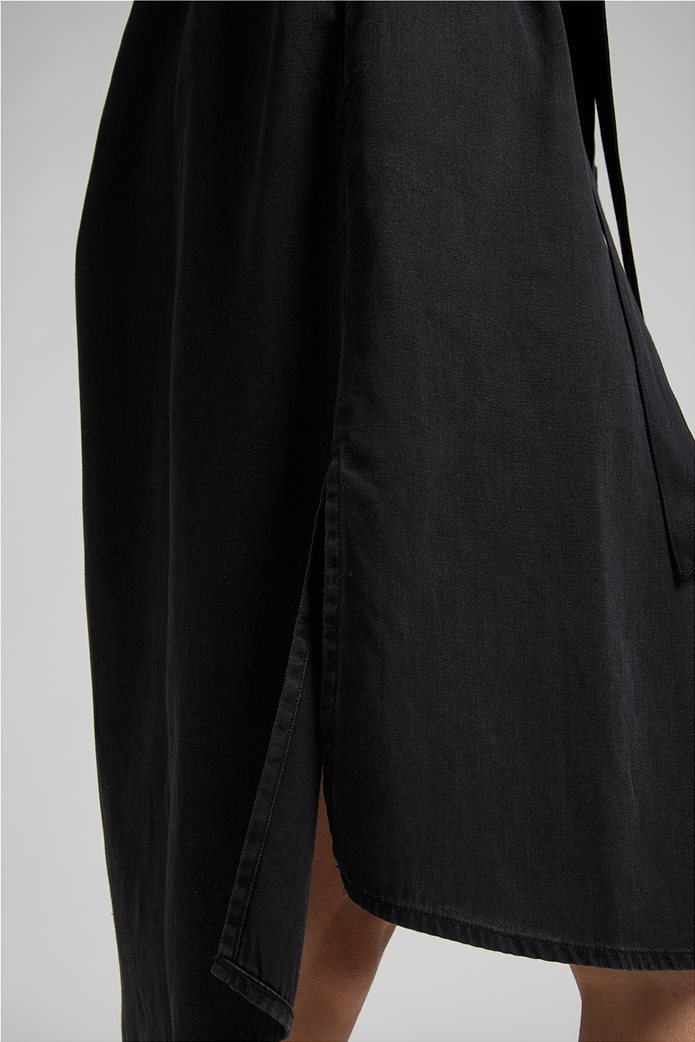 Lee γυναικείο denim φόρεμα ασύμμετρο με ζώνη στη μέση 5