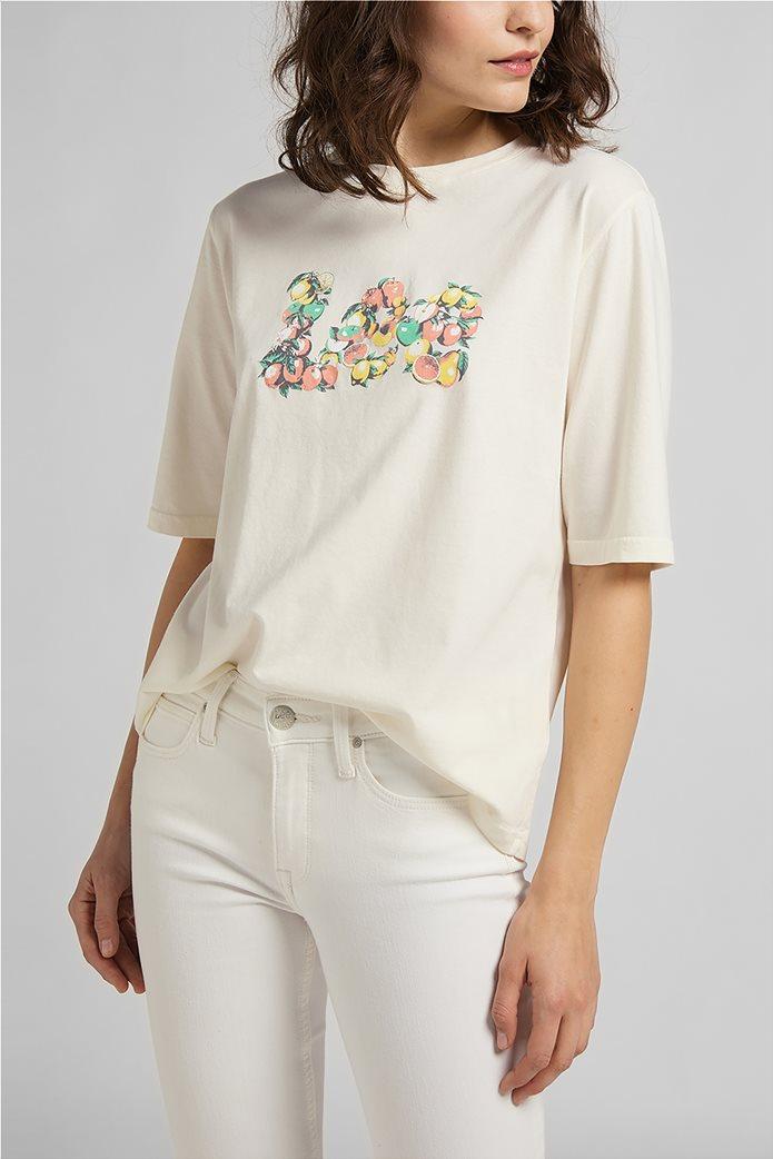 Lee γυναικείο T-Shirt με graphic print 0