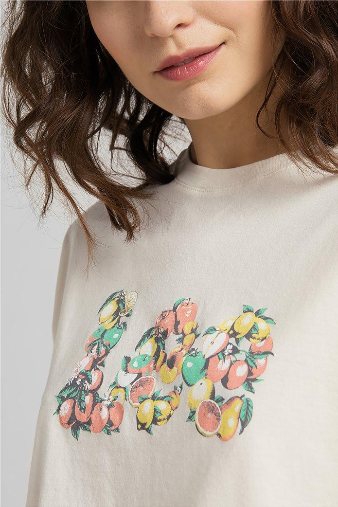 Lee γυναικείο T-Shirt με graphic print 4
