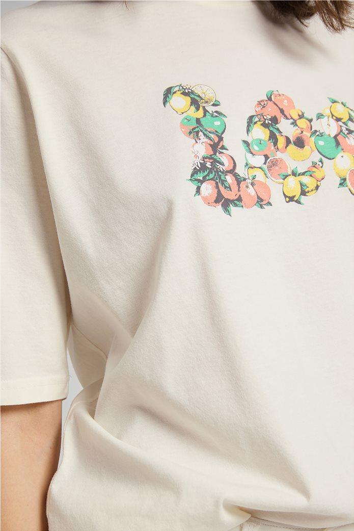 Lee γυναικείο T-Shirt με graphic print 5