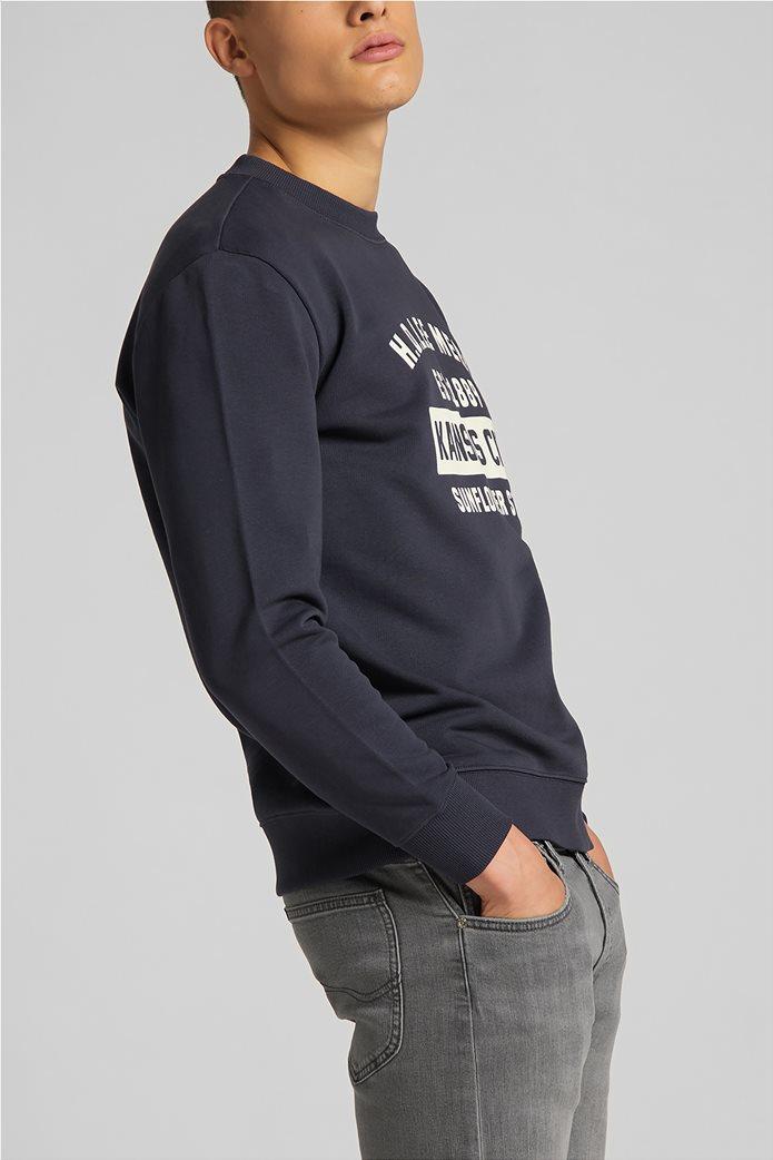 Lee ανδρική φούτερ μπλούζα με letter print ''Mercantile'' 1