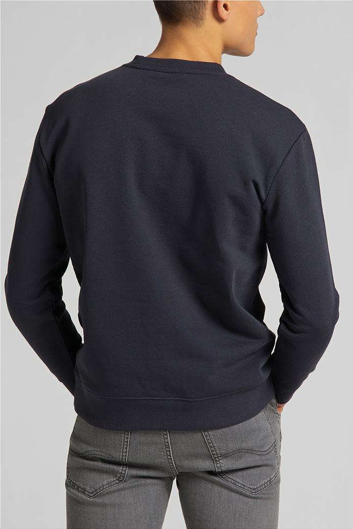 Lee ανδρική φούτερ μπλούζα με letter print ''Mercantile'' 2