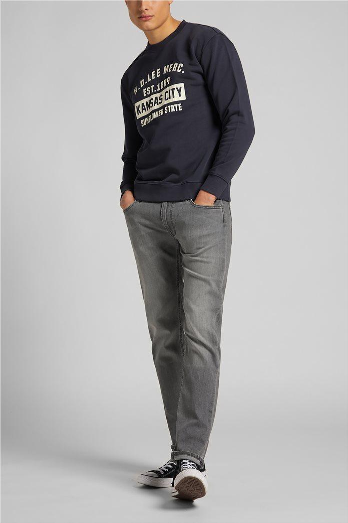 Lee ανδρική φούτερ μπλούζα με letter print ''Mercantile'' 3