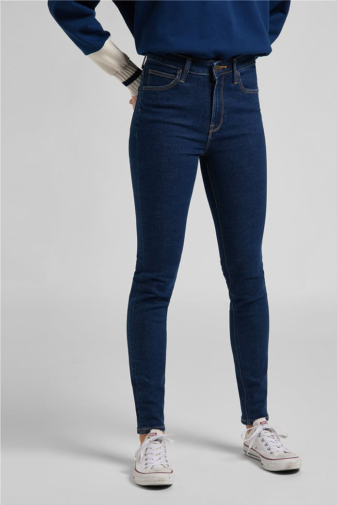 Lee γυναικείο τζην παντελόνι ψηλόμεσο Skinny Fit ''Scarlett'' 3