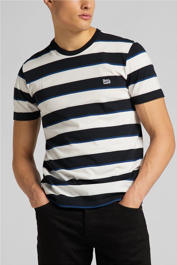 Lee ανδρικό Τ-Shirt ριγέ 0
