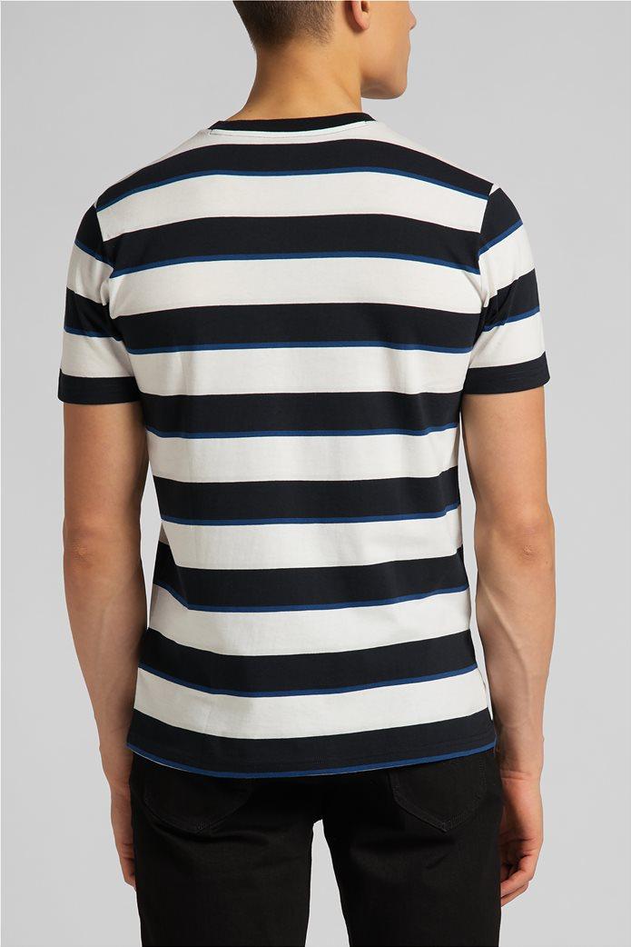 Lee ανδρικό Τ-Shirt ριγέ 1