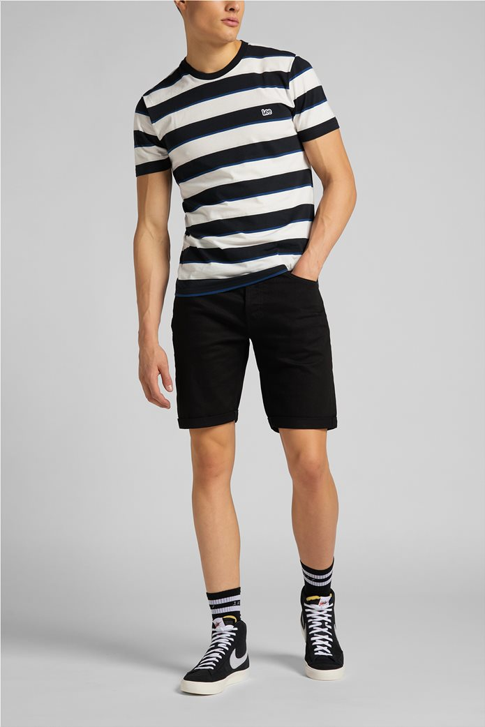 Lee ανδρικό Τ-Shirt ριγέ 2