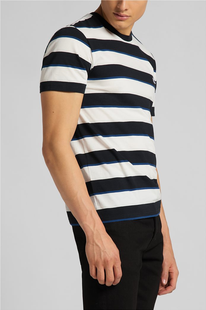 Lee ανδρικό Τ-Shirt ριγέ 3