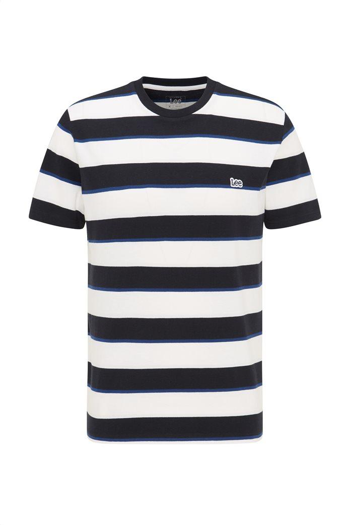 Lee ανδρικό Τ-Shirt ριγέ 5
