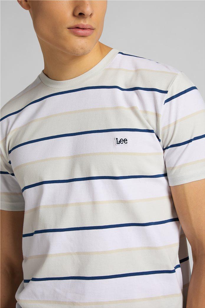 Lee ανδρικό Τ-Shirt ριγέ 4