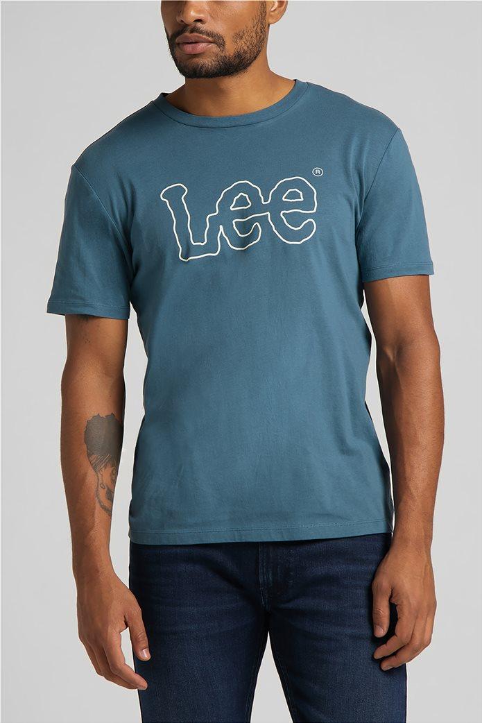 Lee ανδρικό Τ-Shirt με logo print ''Wobbly'' 0